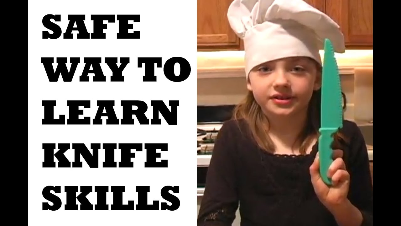 Rating Kitchen Knives Rubber Flooring Knife Skills For Kids | Cooking Lesson Play Doh ...