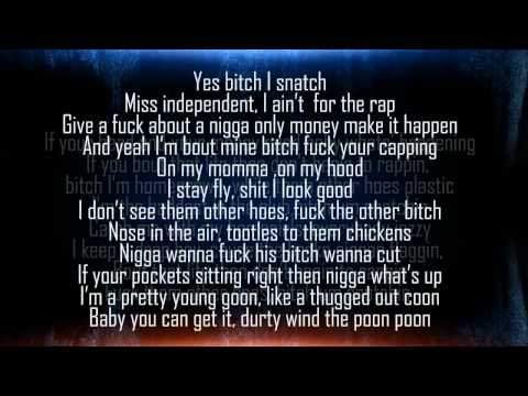 "Shyzte ""Um Snatchin"" Female Version (Lyrics)"