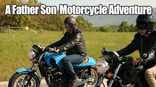 A Father and Son Motorcycle Adventure - Cafe Racer Build Episode 7