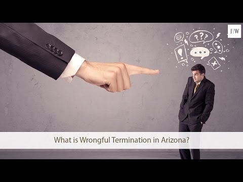 What is Wrongful Termination in Arizona?