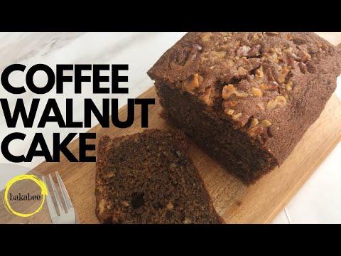 Coffee Walnut Cake | How to make coffee walnut loaf | 咖啡核桃蛋糕