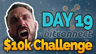Day 19: $10k Bitconnect Challenge! USI Tech Again!