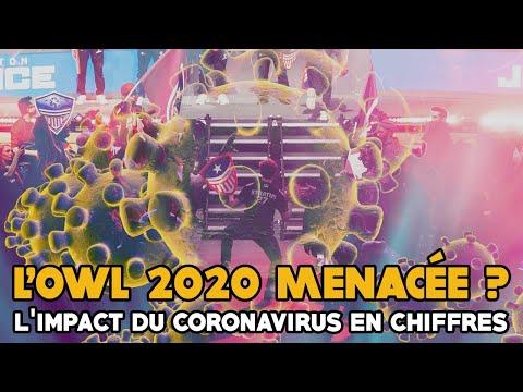 L'Overwatch League 2020 menacée ? L'impact (en chiffres) du coronavirus sur l'OWL