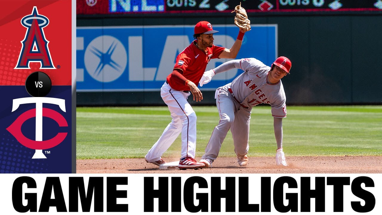Download Angels vs. Twins Game Highlights (7/25/21) | MLB Highlights