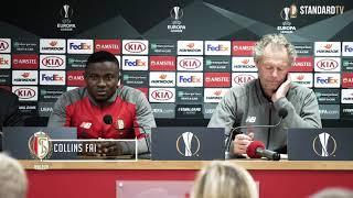 Point presse Europa League : Standard - FK Krasnodar