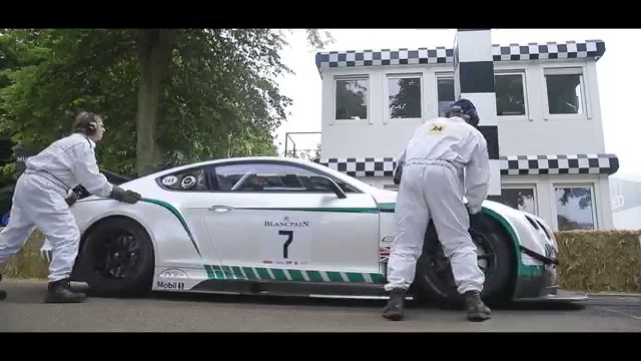 Bentley Motors at Goodwood Festival of Speed 2015