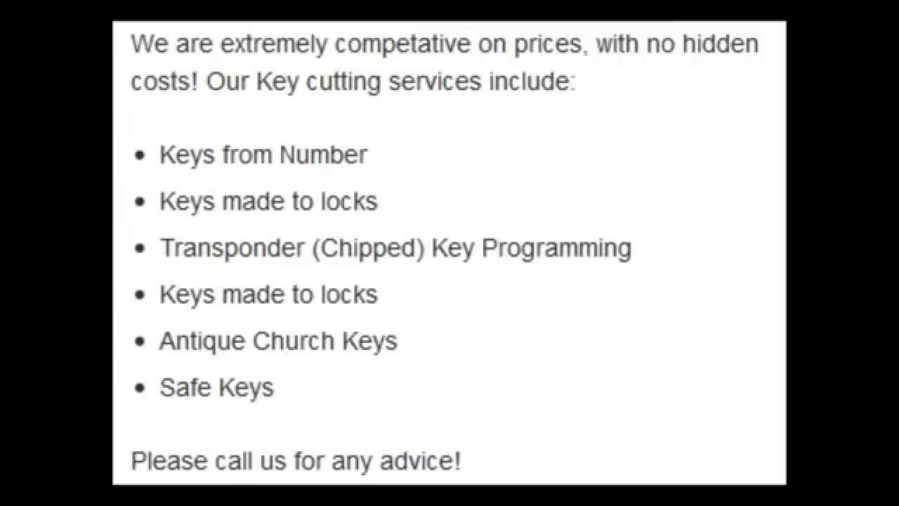 ABS Cylinders | ABS Keys | Central Locksmiths Surrey