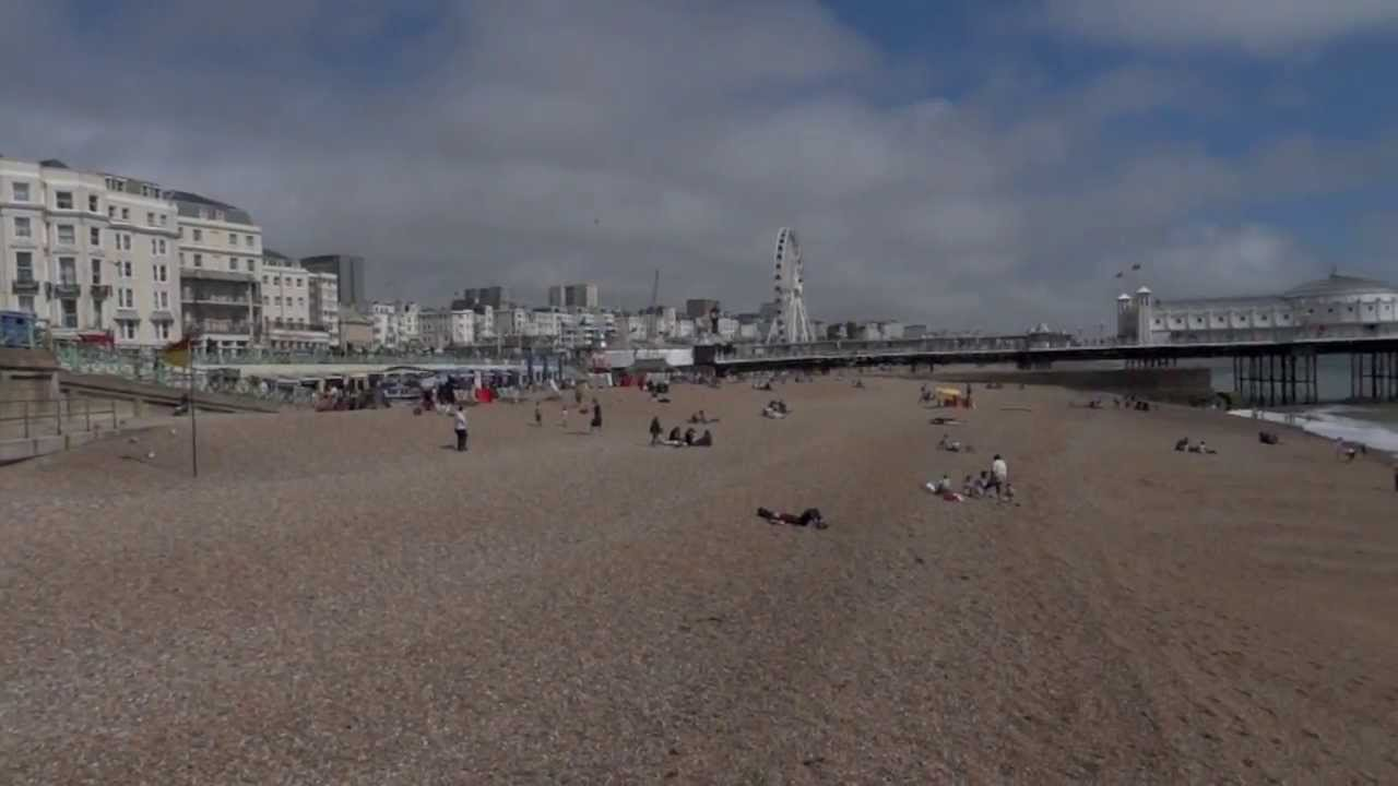 Brighton and Hove Beach, East Sussex, UK - YouTube