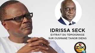 Témoignage Idrissa Seck en wolof suite au décès de Ousmane Tanor Dieng