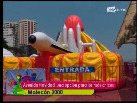 Avenida Navidad, una opción para los más chicos Malecón 2000