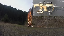 Burning a Christmas Tree from a 1/4 mile with .308 Tracer