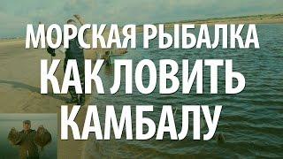 РЫБА КАМБАЛА - МОРСКАЯ РЫБАЛКА НА КАМБАЛУ(В видео, морская рыбалка на камбалу, применяемые рыболовные снасти, наживки. Узнайте, как ловится рыба камба..., 2015-06-26T10:54:38.000Z)
