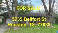 Houston HUD Homes -- HUD King tours 5735 Bellfort St