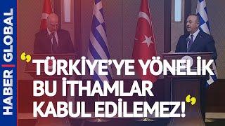 Mevlüt Çavuşoğlu - Dendias Toplantısında Büyük Tartışma!