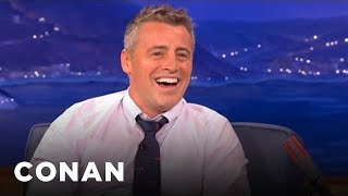 Matt LeBlanc Interview Part 1 - CONAN on TBS