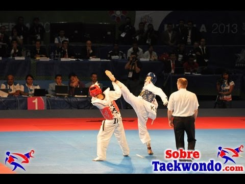 The best actions at 2013 World Taekwondo Championships 58 kg and 46 kg