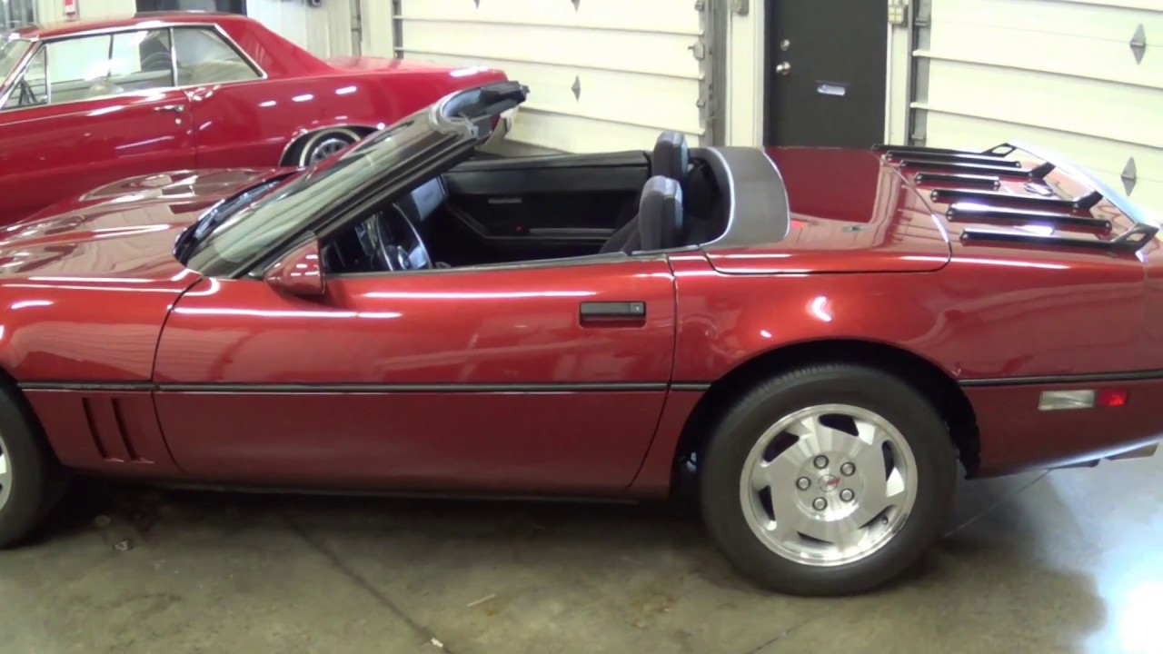 1988 corvette convertible chevy c4 how to put the top down on a c4 rh youtube com 78 Corvette 88 corvette manual transmission