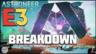 Astroneer E3 Trailer BREAKDOWN Everything NEW !   Z1 Gaming