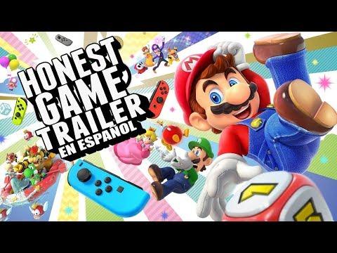MARIO PARTY (Honest Game Trailer en Español)