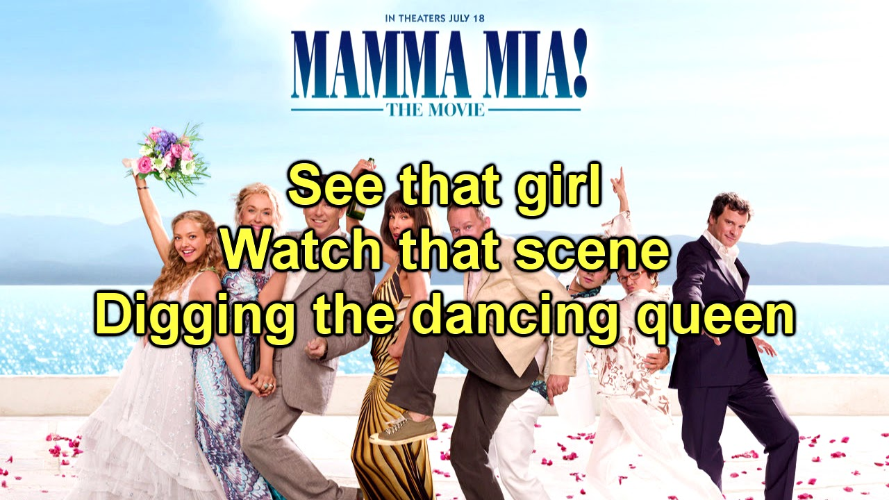 mamma mia the movie dancing queen instrumentallyrics