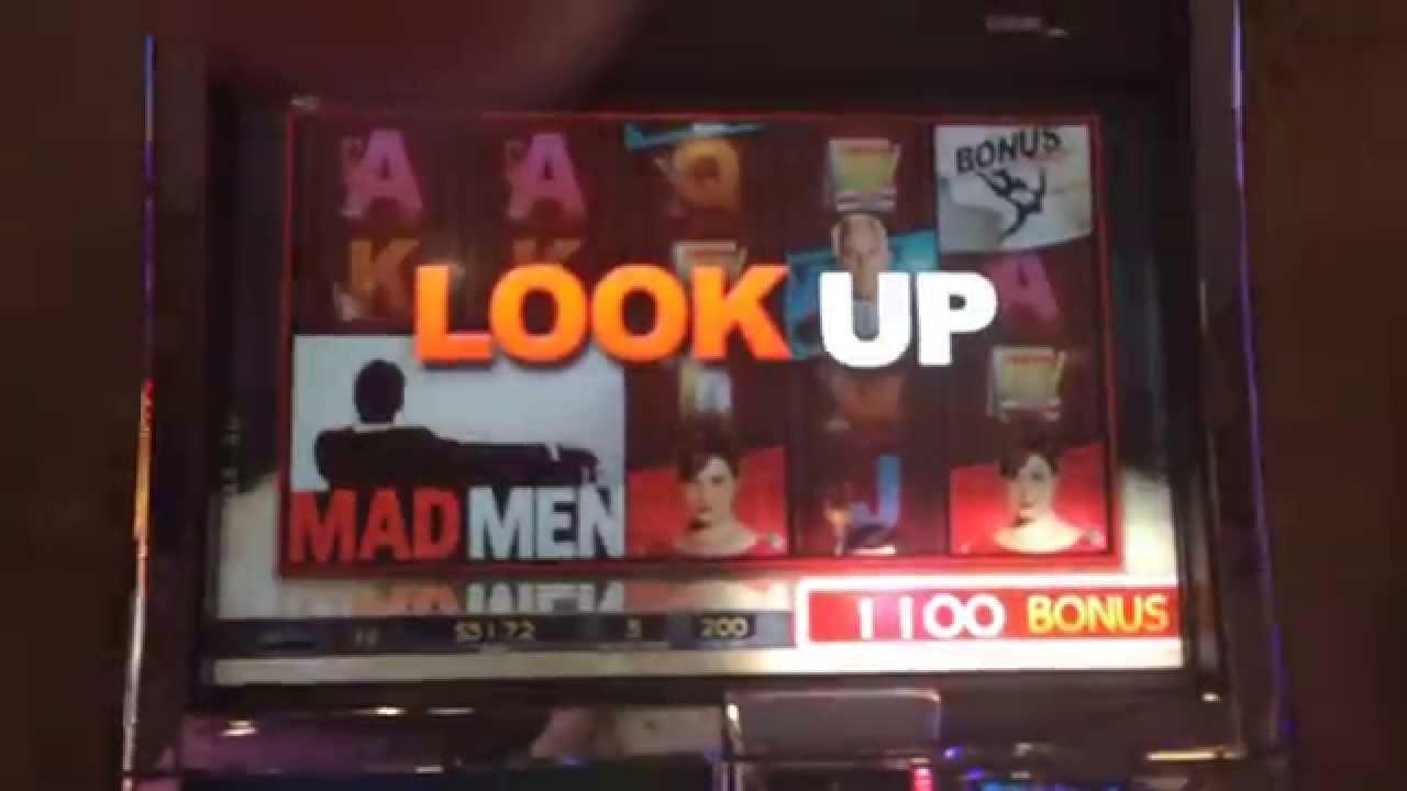 Mad Men Slot Machine