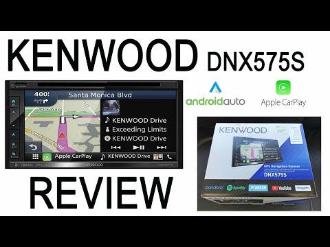 Kenwood DNX575S DNX695S Navigation Radio Review