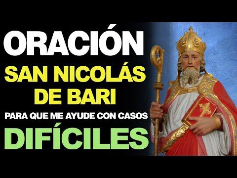 🙏 Oración de los Tres Lunes a San Nicolás de Bari PARA EN CASOS DIFÍCILES 🙇