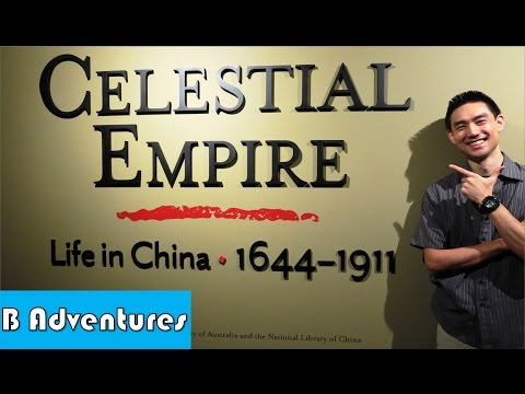 Celestial Empire, Life In China 1644–1911, National Library of Australia, Canberra City