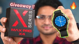Maxima Max Pro X4 Unboxing | LC11 Chip For Heart Rate Tracking | Metallic Strap | Giveaway Maxima Max Pro X4 Buy Now :- https://amzn.to/3evNci2 ...