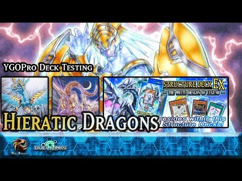 Hieratic Dragon Deck Testing! | YGOPro/Yu-Gi-Oh! Duel Links