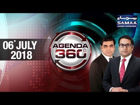 Court Ka Faisla | Nawaz Family Ki Kismat | Agenda 360 | SAMAA TV | 06 June 2018