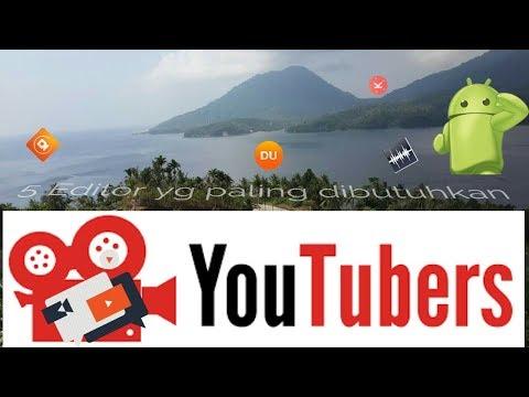 5 Aplikasi Editor Yang Paling Dibutuhkan Youtuber Untuk Editing Vidio Youtube