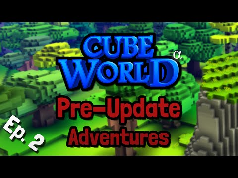 Cube World Pre-Update Multiplayer Adventures - Ep. 2 - Strongest Fly