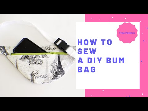 How to Make a DIY Bum Bag