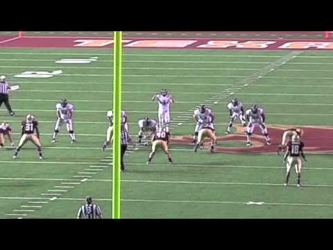 Nick Stephens - Tarleton State - 3 Step Drop
