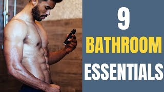 9 Items All Men Should Have In their Bathroom