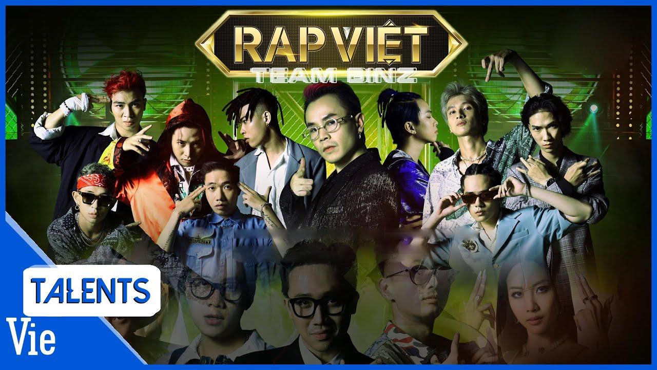 TEAM BINZ XUẤT TRẬN - Đếm ngược tới Vòng đối đầu tập 10 Rap Việt | Tổng hợp những tiết mục đỉnh cao