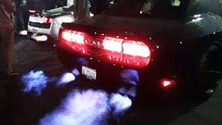 BACKFIRE BATTLE: Lamborghini vs Dodge Challenger