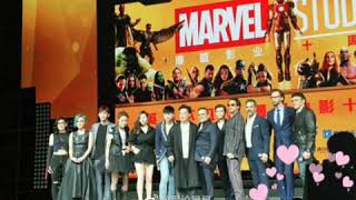 Aaron Yan #MarvelStudios #10thanniversary #event 19/04/2018