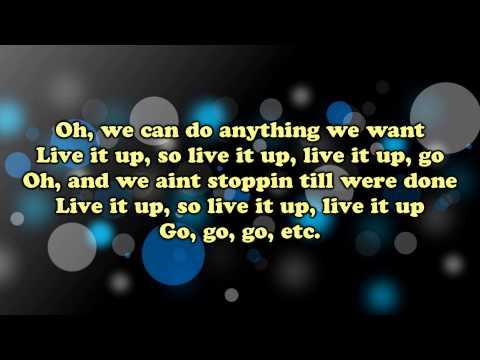 Jennifer Lopez ft. Pitbull - Live It Up (Lyrics) HD