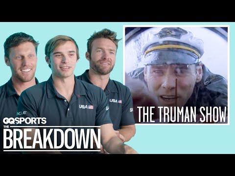 The US SailGP Team Breaks Down Iconic Sailing Movie Scenes   GQ Sports