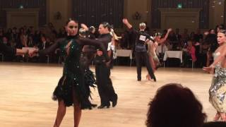 WDC Disney Paris - Adelmo and Leah - Rumba Amateur 2016