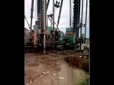 Cement Deep Mixing or Deep Mixing Method construction
