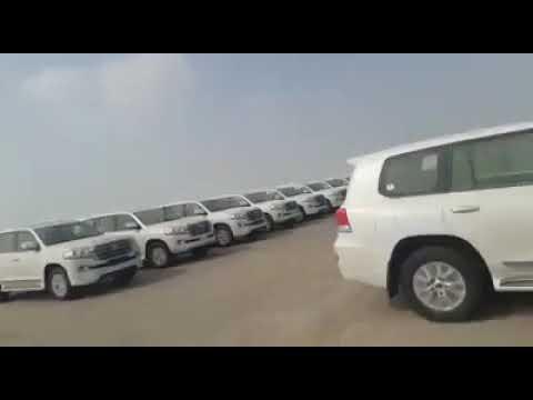 Автопарк из Toyota Land Cruser 200 в Дубае