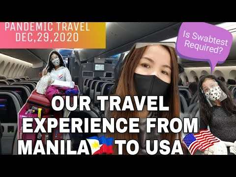 TRAVELLING EXPERIENCE FROM  PHILIPPINES 🇵🇭 TO USA🇺🇸 DURING PANDEMIC 2020|| Charz B Diaries
