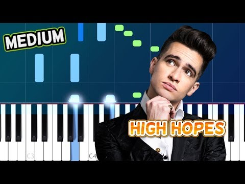 "Panic! At The Disco - ""High Hopes"" Piano Tutorial"