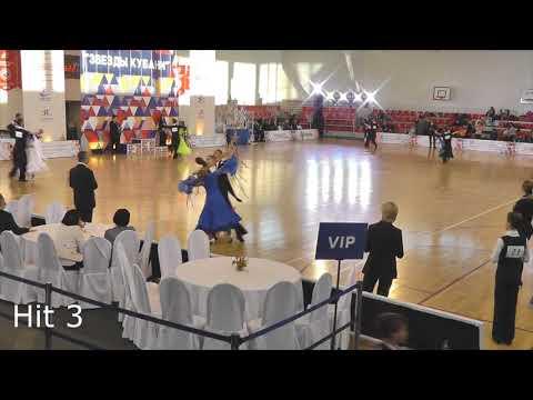 Звезды Кубани - 2018, WDSF Open Standard, Quarterfinal