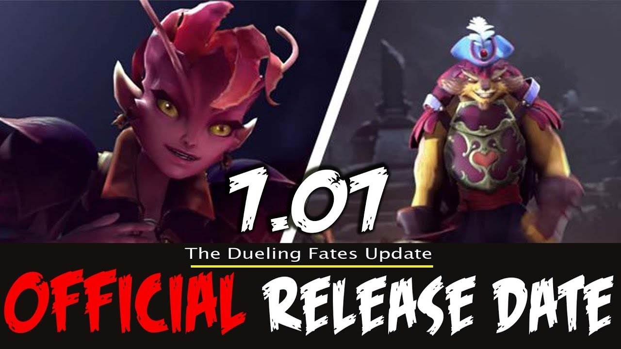 dota 2 dueling fates update official release date youtube