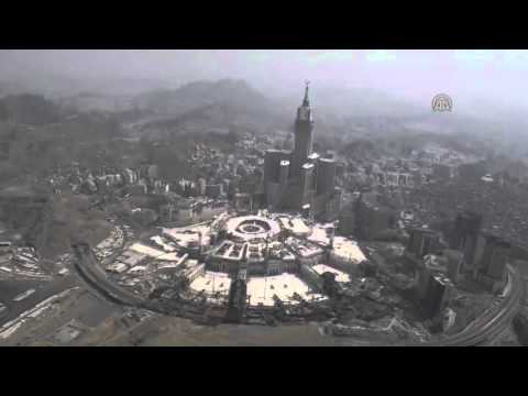 Aerial View Of Mecca Youtube