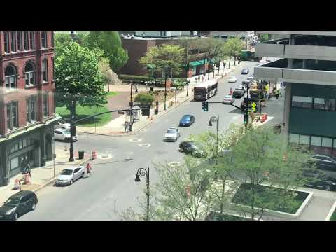 Downtown Springfield, MA Timelapse